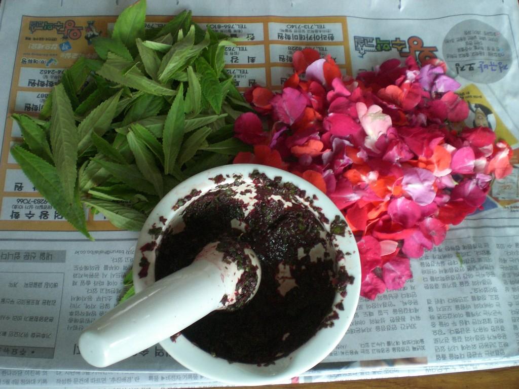 Bong Seon Hwa (봉숭아) Korean Nail Dye | Kimchi Teaching